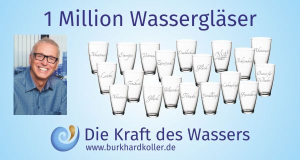 1 Million Wassergläser Projektbild 600x315