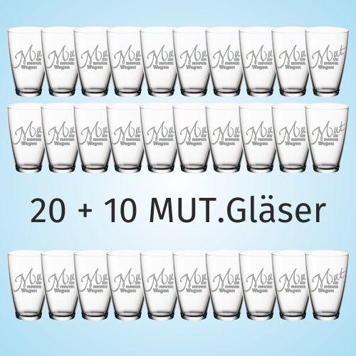 20 + 10 MUT.Gläser 500x500