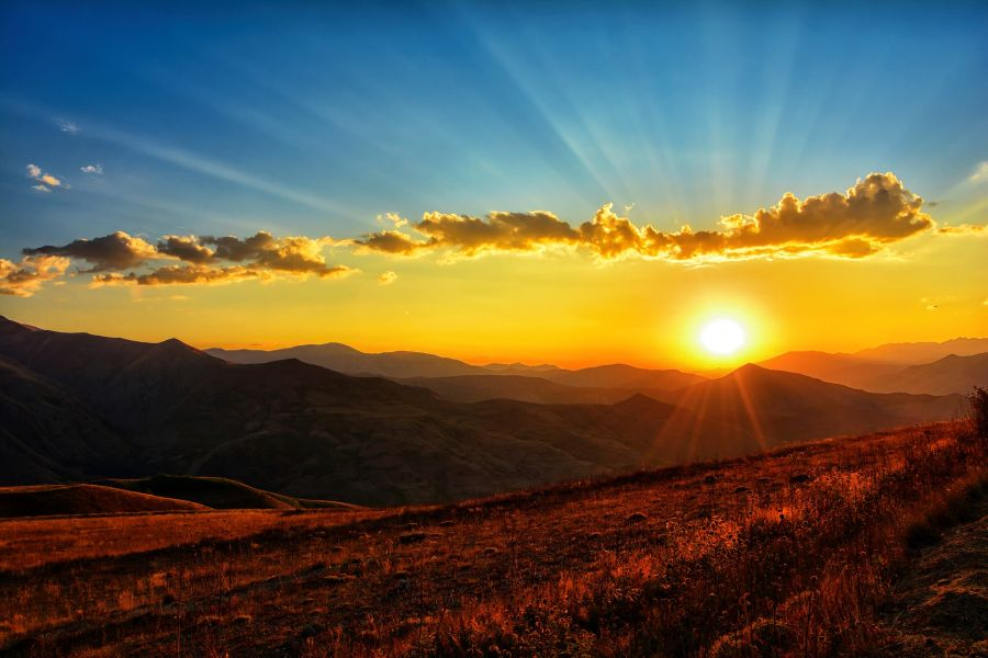 Sonnenaufgang 900x600